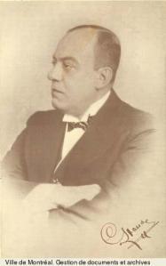 Camillien Houde, années 1930. AVM, BM1,P0965