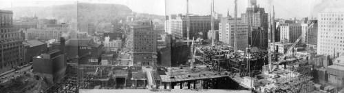 Construction de la Place Ville-Marie, 1960. P500,SY,SS1,D2,P1