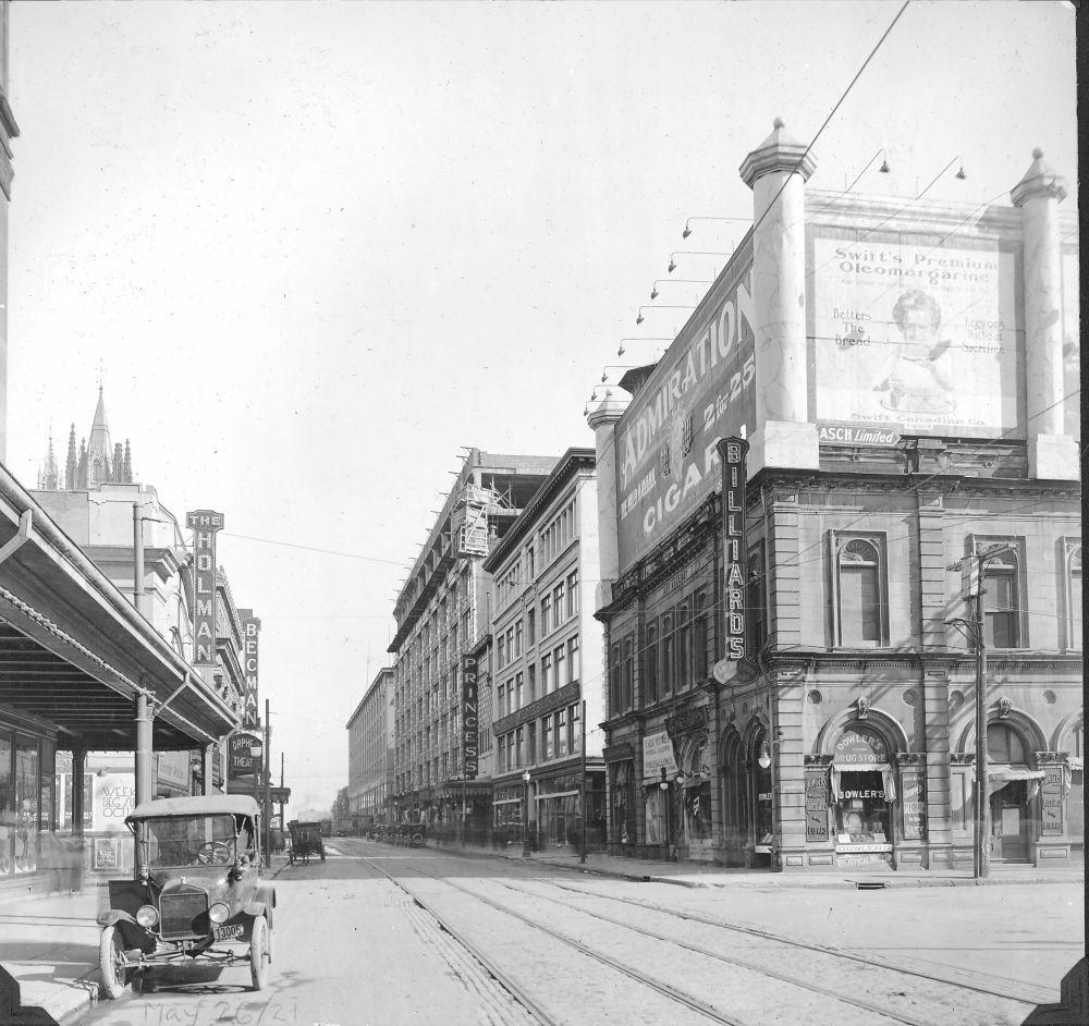 Les années 1920 et les panneaux publicitaires à Montréal (2/2)