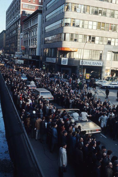 Défilé de la Coupe Grey, 30 novembre 1970,VM94-Ed40-055