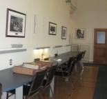 La salle de consultation des Archives de la Ville de Montréal