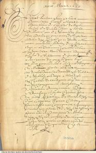 Jeanne Mance maintient l'Hôtel-Dieu grâce au don de 20 000 livres de Madame de Bullion. - 1659. - 5 pages, BM2,S4,D2