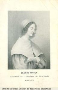 Jeanne Mance, BM1,P1381-2