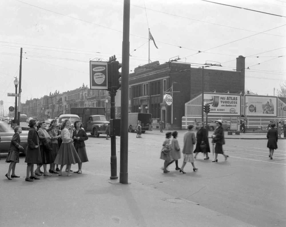 Au coeur de La Petite-Patrie, 1955 (extrait de «Vivre Montréal 1920-1969»)