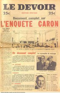 Le Devoir, édition spéciale, 1954, P43.S4,SS1,D002