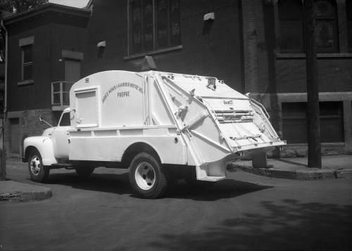 Camion à ordures, 7 juin 1950, VM94-Z365-1