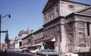 Le marché Bonsecours, vu depuis la rue Saint-Paul, 1964, VM94-AD31-001
