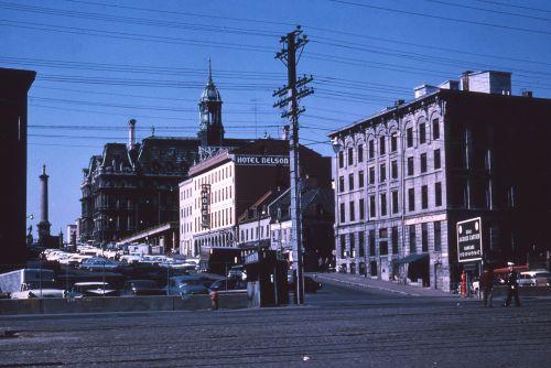 Place Jacques-Cartier et environs, 1964, VM94-AD31-005