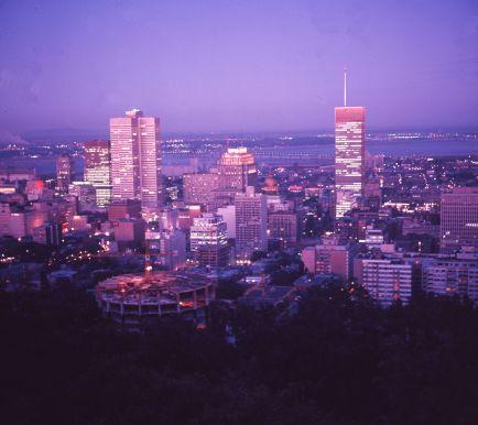 Le centre ville de Montréal, 1964, VM94-SY-AD12-005