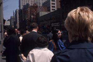Rue Sainte-Catherine, 1968. VM94-AD50-007