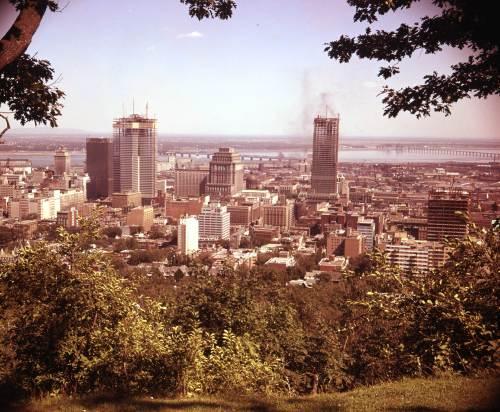 Le  centre-ville de Montréal, 1962, VM94-Ad123-010