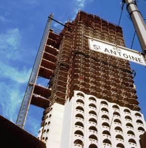 Construction du Château Champlain, 1966, VM94-Ad63-004