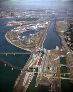 La voie maritime et les îles d'Expo 67, 1966, VM94-Ad110-001